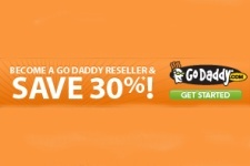 Go Daddy Coupon - 30 Per Cent Off Reseller Plans