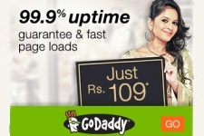 Go Daddy Coupon - Rs 109 Hosting Deal