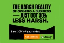 GoDaddy Coupon - 30 Per cent Off