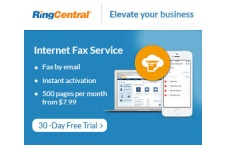 Ring Central - FAX - 30 Day FREE Trial